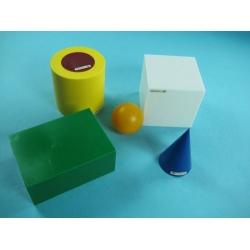 Geometric Shape Model Set (5 Pieces)