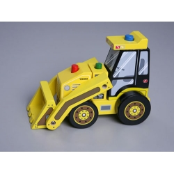 Bulldozer (collapsible)