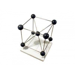 Iron Molecular Structure Model