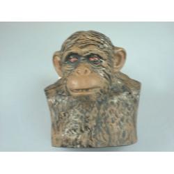 Chimpanzee Bust