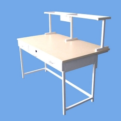 Device Desk with Shelf