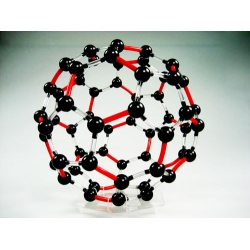 Carbon-60 Molecular Structure Model