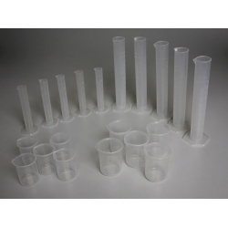 Set of Measured Utensils from Polypropylene