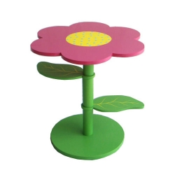 Flower Shaped Doll's Table