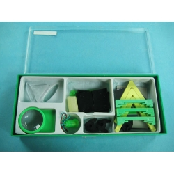 Geometrical Optics Experiment Kit for Grade School