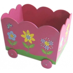 Four-wheel Toy Box