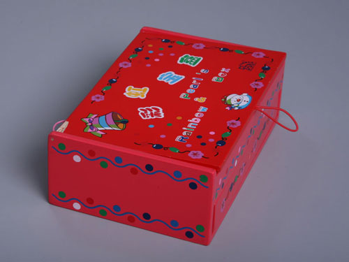Casket with Beads