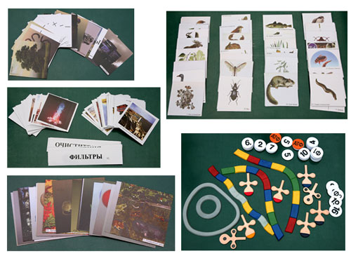 Biological Element Exchange, Magnetic Demonstration Cards