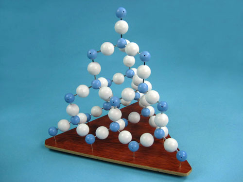 Silicon Dioxide Molecular Structure Model