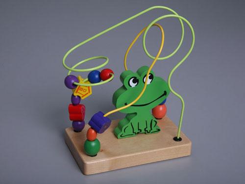 "Children's Abacus ""Frog"""