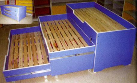 Triple Deck Bed