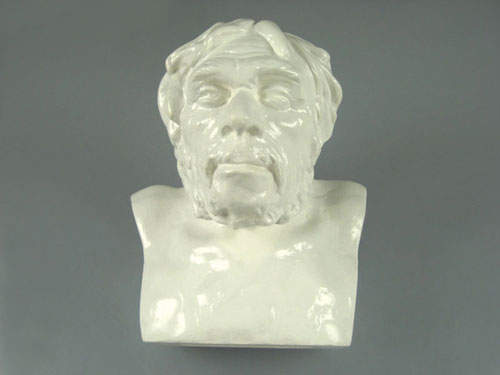 Bust of the Australopithecus