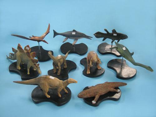 Dinosaur Model Set
