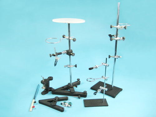 Utility Stand Set for Physics Experiments
