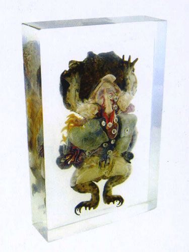 "Resin Educational Specimen""Frog"""