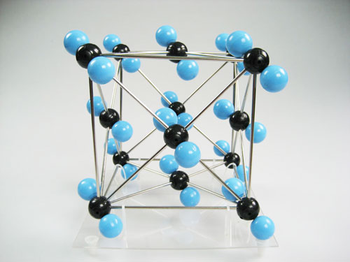Carbon Dioxide Molecular Structure Model