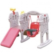fortress slide with swing