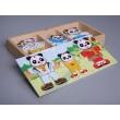 """Dress-up Pandas"" Puzzle Game"