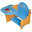 Multifunction  Children's Desk and One Chair Set