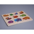 """Learning Counting. Animals"" Puzzle"