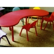 """""""Horseshoe"""" Table  and 6 Chairs"""