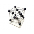 Copper Molecular Structure Model